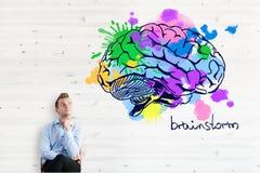 Brainstorm pojęcie Zdjęcie Royalty Free