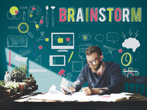 Brainstorm Sharing Ideas Creative Planning Concept Stock Images