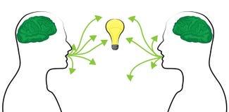 Brainstorm stock illustration