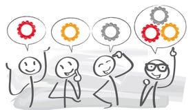Brainstorming – Teamwork concept Stock Photos