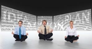 'brainstorming' στην έννοια ίδρυσης επιχείρησης Στοκ Εικόνες