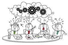 Brainstorming. royalty ilustracja