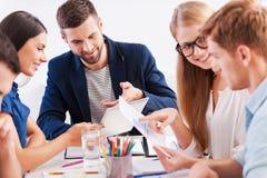 'brainstorming' Immagine Stock Libera da Diritti