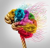 Brainstorming and brainstorm creativity Royalty Free Stock Photography