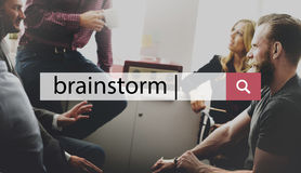 Brainstorming Brainstorm Planning Analysis Concept Stock Photos