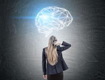 Brainstorming concept Royalty Free Stock Photography