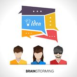 Brainstorming Concept Illustration Stock Photos