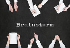 Brainstorming Concept / People  Planning Stock Images