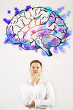 Brainstorming concept Royalty Free Stock Images