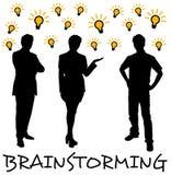 'brainstorming' del gruppo Immagini Stock Libere da Diritti