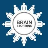 Brainstorming icon Lizenzfreie Stockfotografie