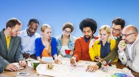 Brainstorming Meeting Communication Teamwork Concept Royalty Free Stock Image