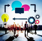 Brainstorming Meeting Discussion Strategy Thinking Concept Royalty Free Stock Photography