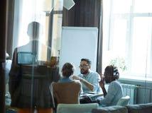 Brainstorming Meeting in Office Stock Photo