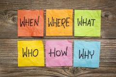 'brainstorming' o processo decisionale Immagini Stock