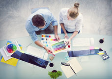 Brainstorming Planning Partnership Strategy Workstation Concept royalty free stock photo