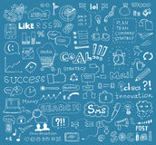 Brainstorming Vector Elements Background Royalty Free Stock Images