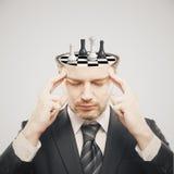 Brainstormingkonzeptlicht Stockbilder