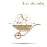 brainwaves иллюстрация вектора
