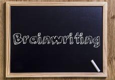 Brainwriting Royalty-vrije Stock Foto