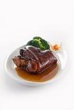 braised свинина костяшек Стоковое Изображение RF
