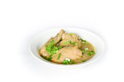 Braised цыпленок стоковое фото