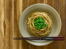 Braised asian noodles Stock Photos