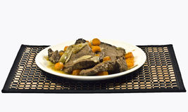 Braised beef Royalty Free Stock Photo