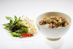 Braised beef noodle Royalty Free Stock Photography