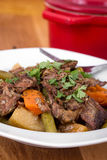 Braised beef pot roast stew Stock Photo