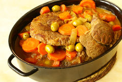 Braised beef shin Royalty Free Stock Photos