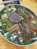 Braised Beef Tendon Noodle Stock Images