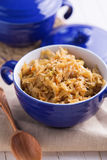 Braised cabbage Royalty Free Stock Images