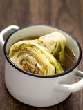 Braised cabbage Stock Image