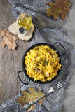 Braised cabbage with minced meat Royalty Free Stock Image