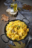 Braised cabbage with minced meat Stock Image