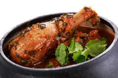 Braised chicken Royalty Free Stock Photography