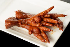 Braised Chicken claw Stock Photography