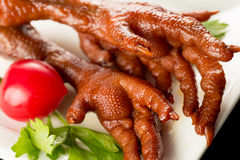 Braised Chicken claw Royalty Free Stock Photos