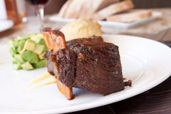 Braised Cumbrae's Short Rib Royalty Free Stock Photos