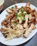 Braised dishes closeup stock photos