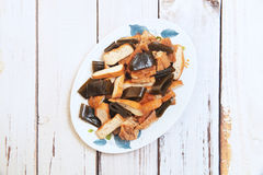 Braised dishes Royalty Free Stock Images