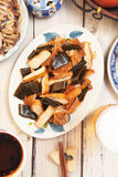 Braised dishes Stock Photography