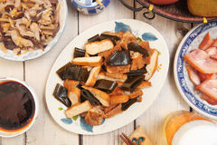 Braised dishes Stock Image