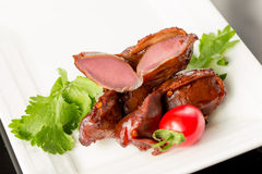 Braised duck gizzard Stock Photography