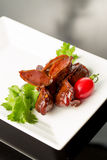 Braised duck gizzard Royalty Free Stock Photography