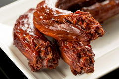 Braised duck necks Royalty Free Stock Photo