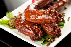 Braised duck necks Royalty Free Stock Photography