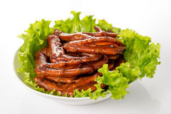 Braised duck palm Royalty Free Stock Image