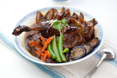 Braised Duck. A popular asian dish Royalty Free Stock Image